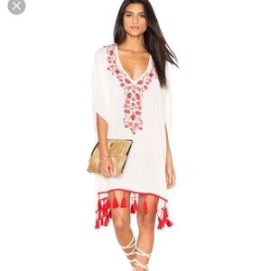 Show Me Your Mimi • White Cover Up with Tassels